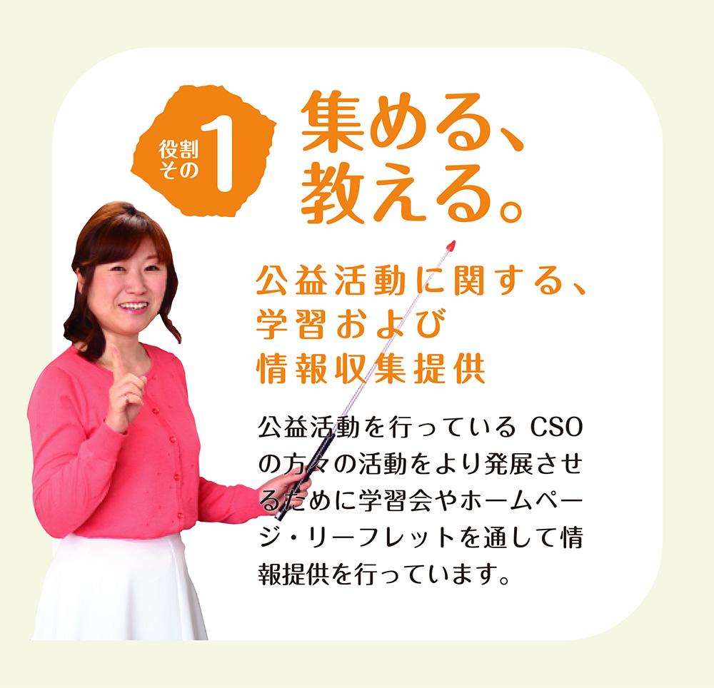 佐賀県CSO推進機構 集める、教える。